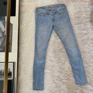 Hollister, Light blue washed jeans